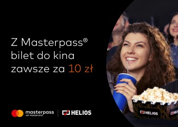 Bilet do kina za 10 zł z Masterpass!
